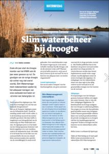 Slim Waterbeheer bij droogte Water Management