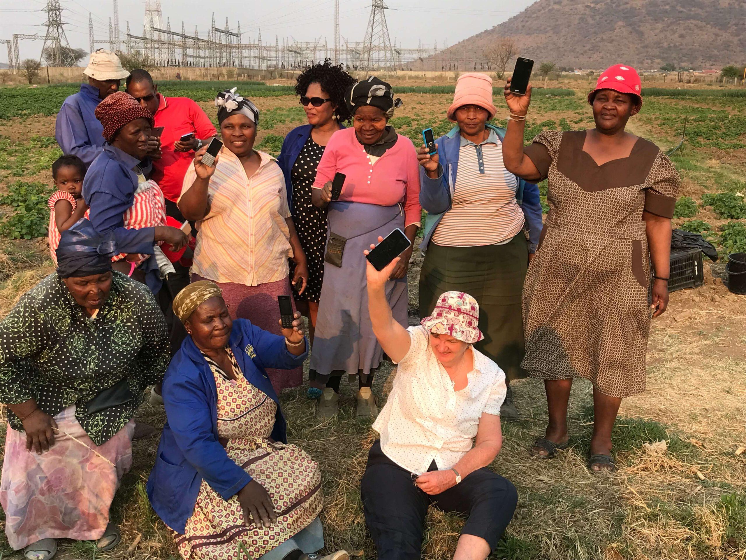 Afrikaanse boeren hebben toegang tot HydroNET