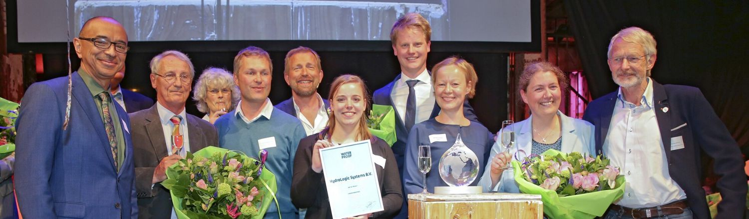 HydroLogic winnaar Partners voor Water Award 2017 small