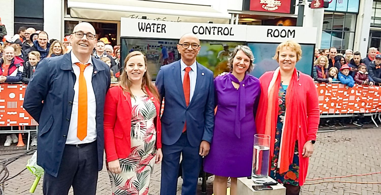 HydroLogic en RHDHV presenteren Water Control Room op Koningsdag 2019
