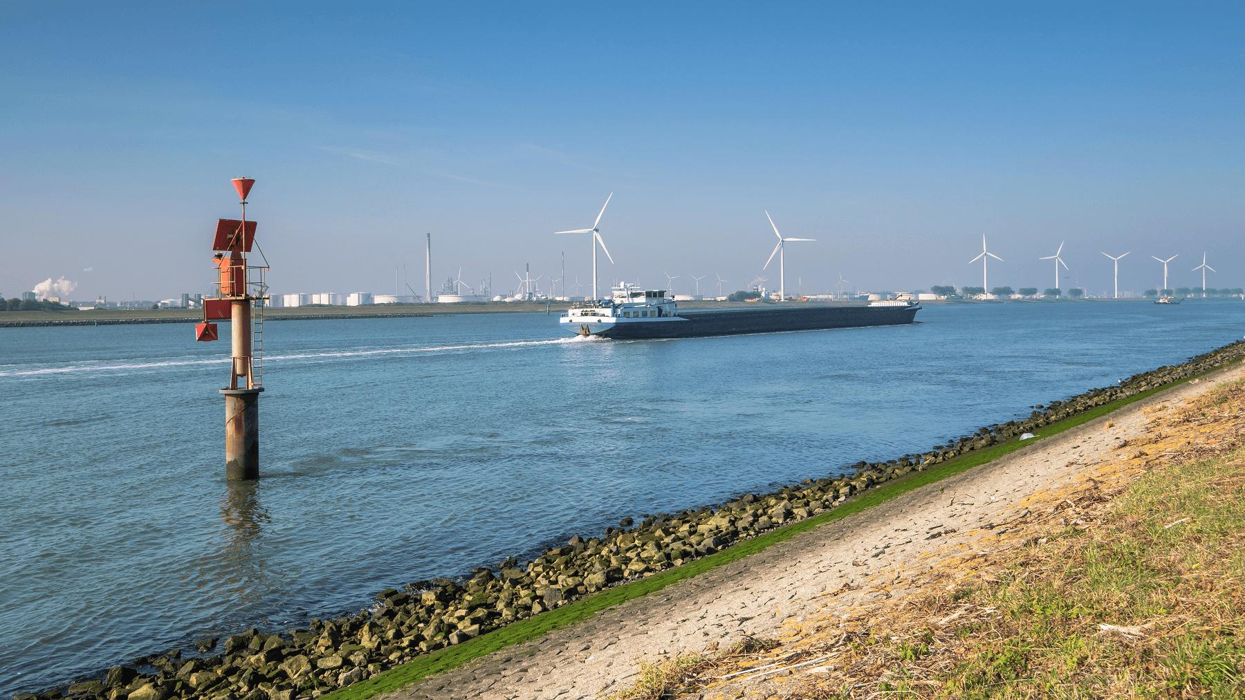 Verdieping Nieuwe Waterweg verziltingsmonitor HydroLogic