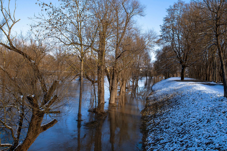 Wateroverlast door sneeuwsmelt