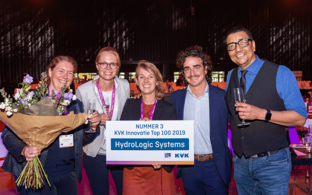 HydroLogic top 3 KVK Innovatie Top 100