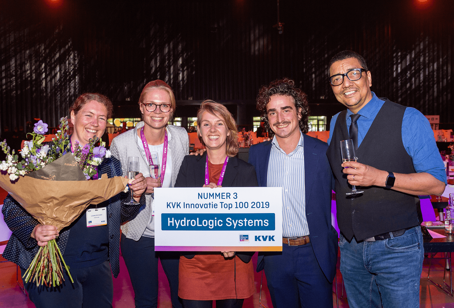 HydroLogic 3e plaats KVK Innovatie Top 100