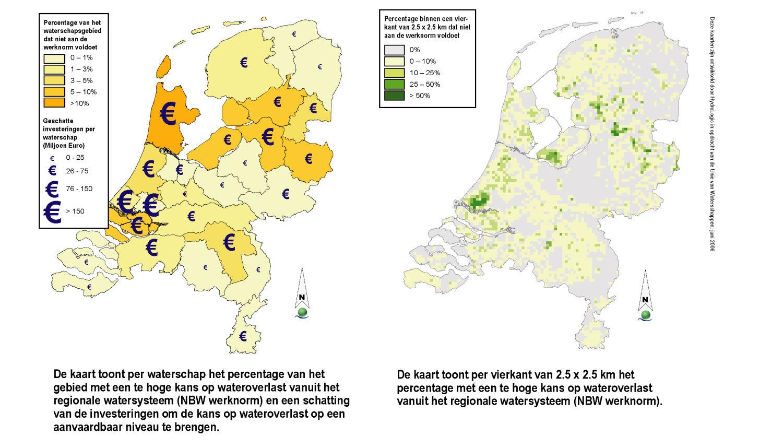 Landelijke kaart wateroverlast