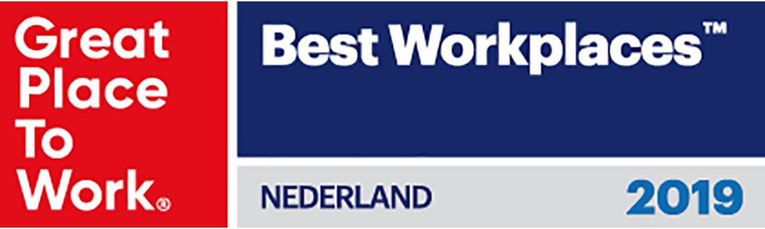 HydroLogic behoort tot de Best Workplaces 2019
